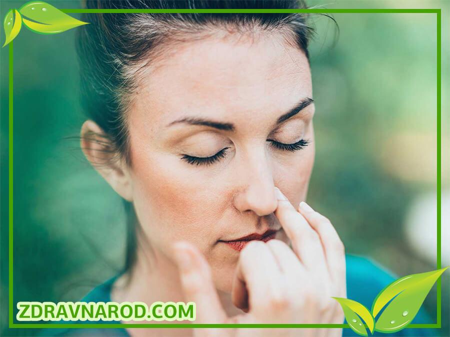 Дыхательные изображения от аллергии