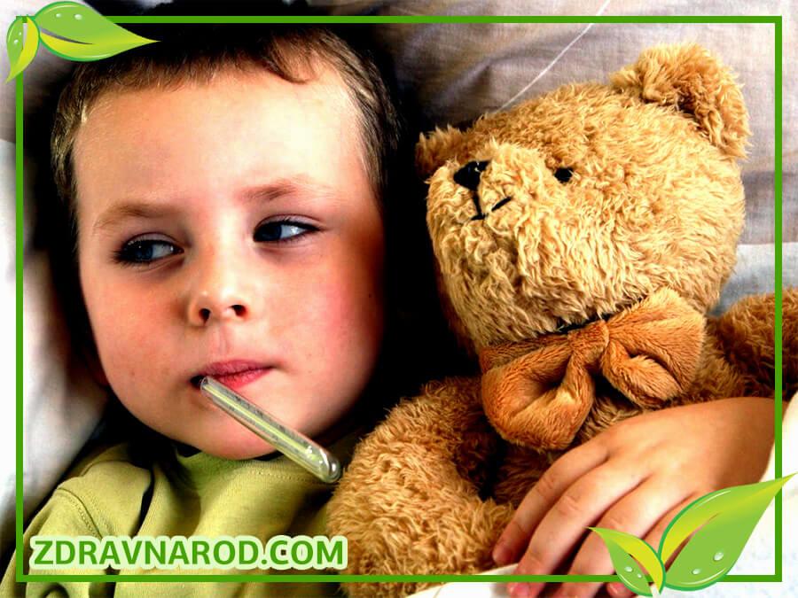 Простуда у детей - фото