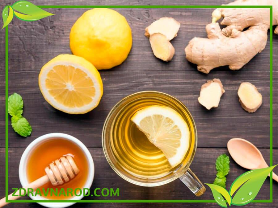 Лечение бронхита мёдом