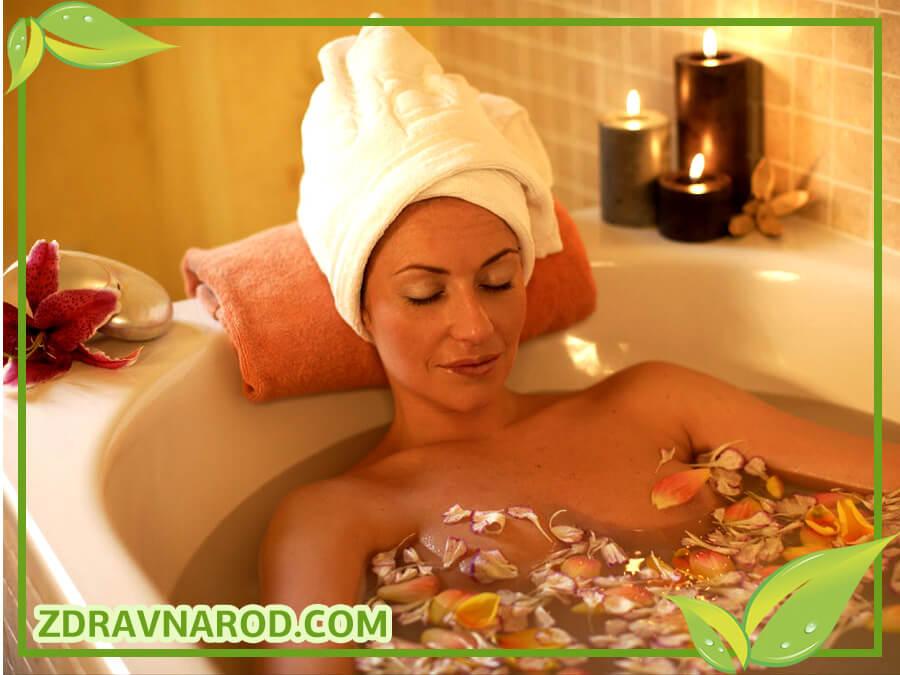 Лечебные ванны от дерматита