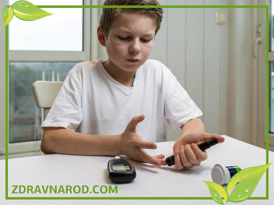 Диабет у детей - фото