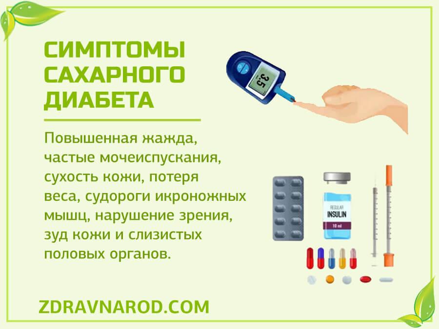Симптомы диабета-фото