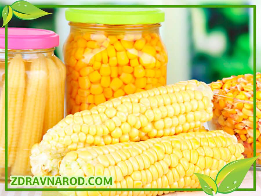 Кукуруза - полезные рецепты